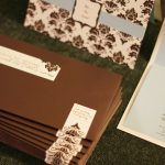 Wedding Reception Invite Stack