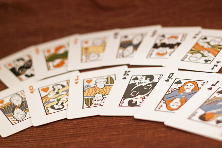 Texas Hold Em Playing Cards