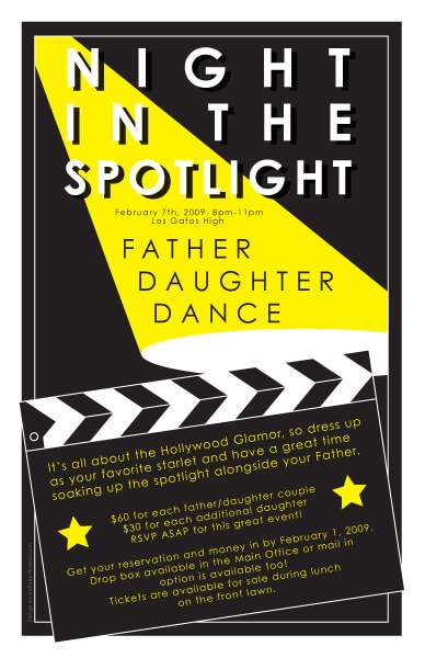Night in the Spotlight, Father Daughter Dance, Los Gatos High School
