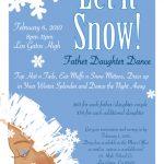 Let it Snow, Father Daughter Dance, Los Gatos High School