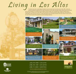 Sereno Group Property Ad, Los Altos Town Crier