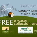 Sereno Group E-Recycle Event Postcard Earthday