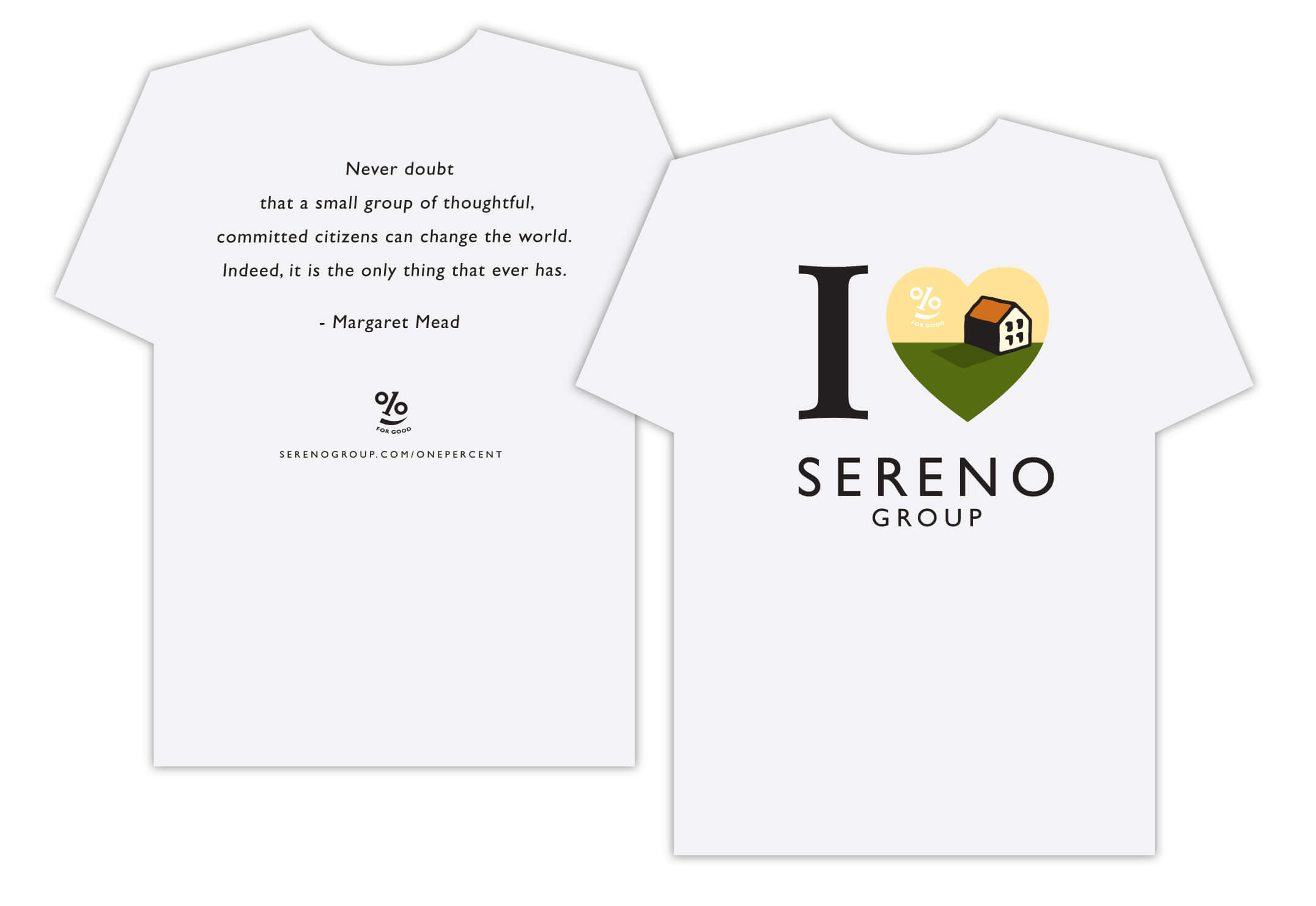 Sereno Group Generic Shirt - One Percent for Good