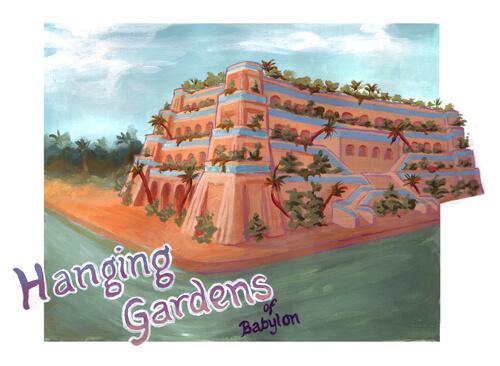 Seven Wonders Hanging Gardens