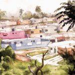 Colorful Houses, Domincan Republic