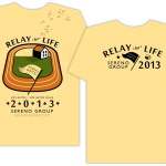 Sereno Sponsorship Shirt - Relay For Life