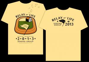 Sereno Sponsorship Shirt - Relay For Life