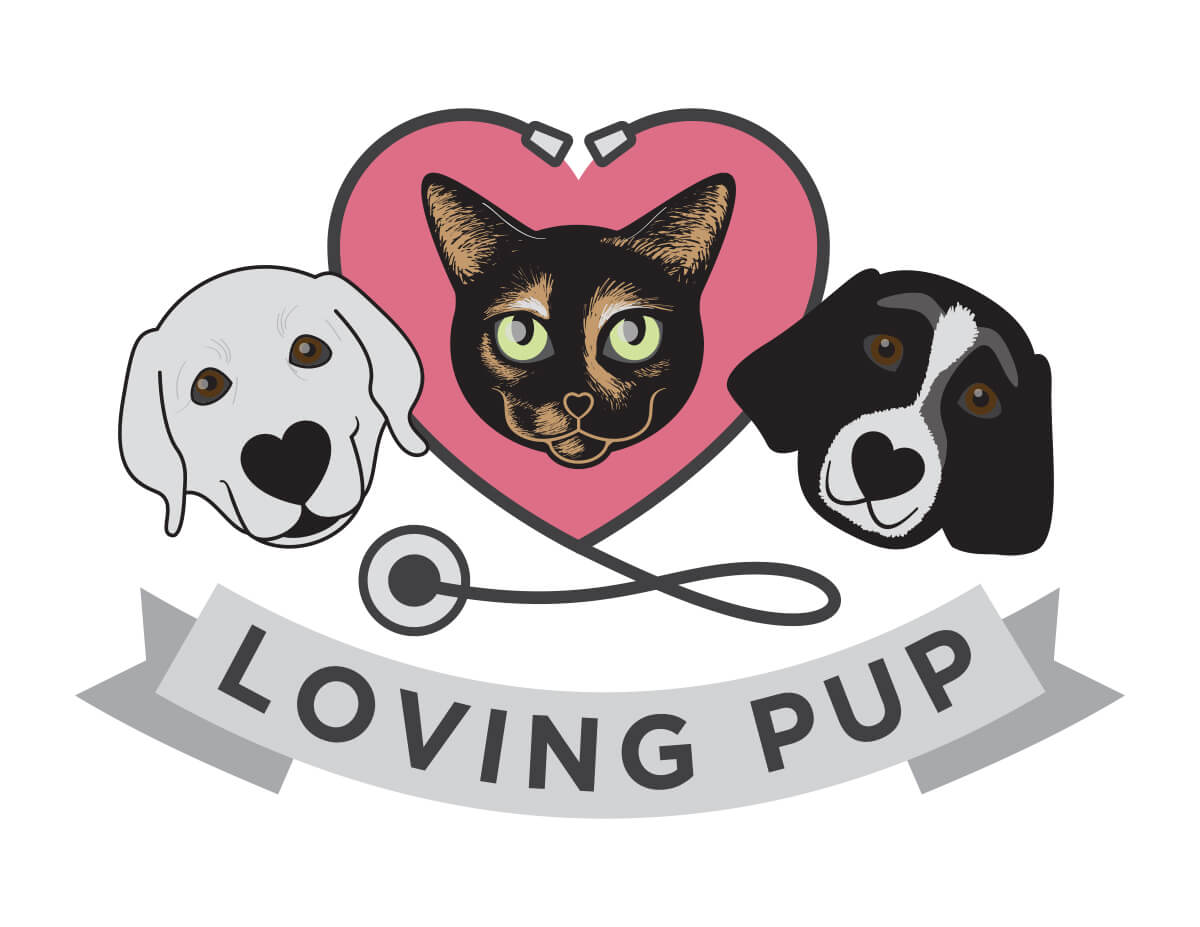 Loving Pup Charity Logo & Website