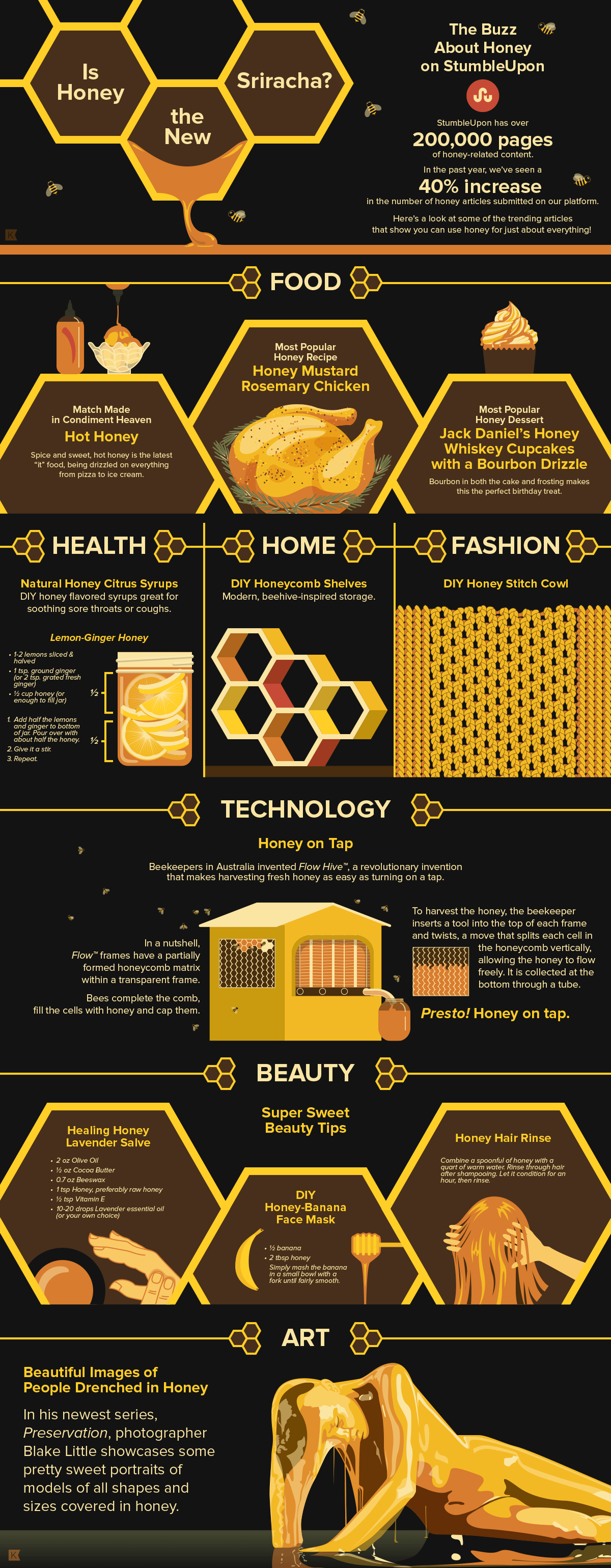 StumbleUpon Honey Infographic