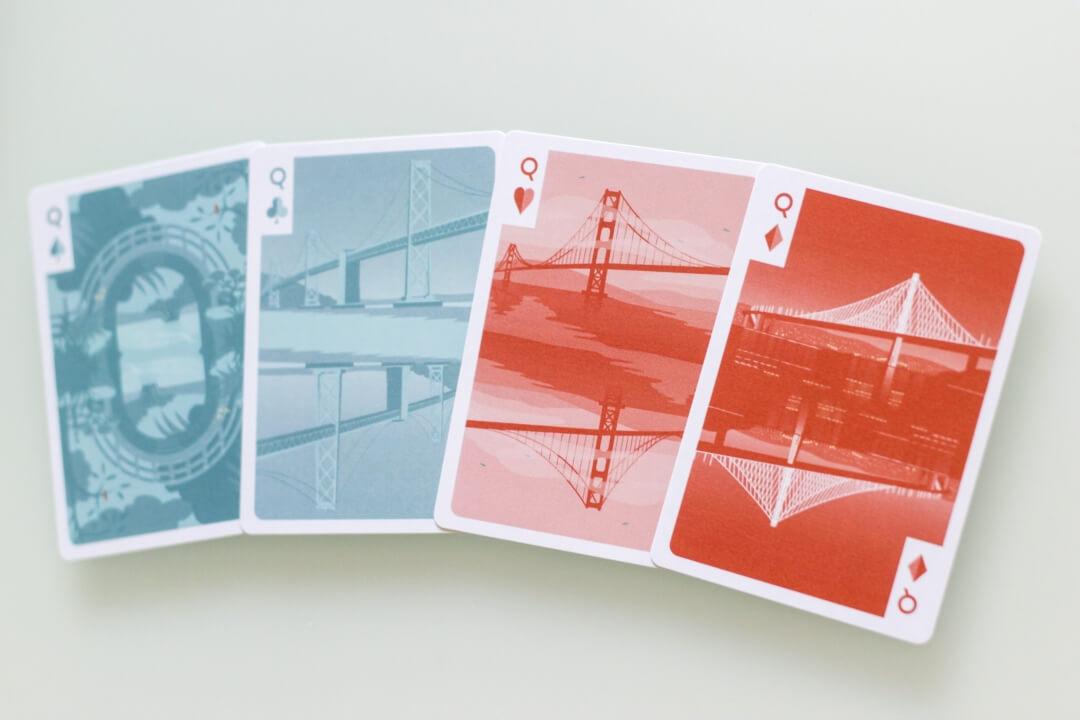 SF Card Deck Queens